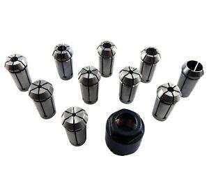 Kress Spannzange und Isel Fräsmotoren D2-10 mm