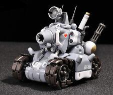 YH Metal Slug Super Vehicle SV-001 tank model movable inner structure Grey