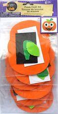 New Halloween Foam Decorating Craft Kit Makes 6 ~ Pumpkin  FREE SHIPPING