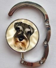 Schnauzer Dog Table Bag Handbag Purse Hanger Hook by paws2print