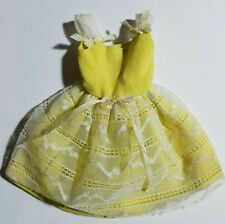 VINTAGE Barbie 1964 SKIPPER FLOWER GIRL DRESS #1904 GOOD CONDITION