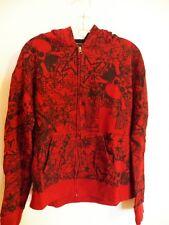 Point Zero Size 20 X-Large Sweatshirt Boys Hoodie Jacket Red Black Skull Bones
