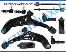 New 10pc Complete Front Suspension Kit fits 200SX Sentra Power Steering Only