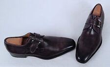 Magnanni 'Marco' Monk Strap Loafer- Catalux Grey- Size 9 M (C21)