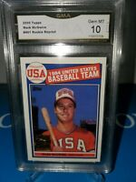 Mark McGwire 2000 Topps REPRINT 1985 Topps USA ROOKIE CLASSIC ! GMA 10 💎 MINT🔥