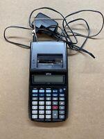 Genuine Ativa (AT-P500) 12 Digit Handheld Printing Calculator With Power Supply