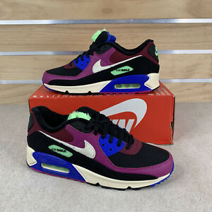 Nike Air Max 90 Multi Color Cactus Flower New Shoes CT1891-500 Womens Sz 8.5