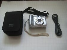 Canon PowerShot A540 6.0MP Digital Camera With Case  USB - Silver