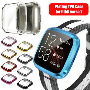 Watch Accessories TPU Shockproof Case Shell+Screen Protector For Fitbit Versa 2