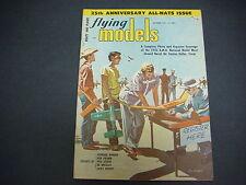Flying Models Magazine,November 1956,25th Anniversary Issue,R/C Boats & Planes