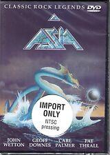Asia - Classic Rock Legends (DVD, 2002) - FACTORY SEALED!  ROCK CONCERT!