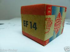 """Ef14/vf14 Telefunken nos """"Low Noise tube"""" sealed Box tube tubo valvola ultra"""