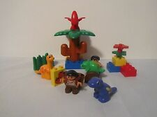 Lego Duplo Dinosaurs Babies Animals RARE PURPLE DINOSAUR Set #2803 Collectible