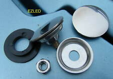Car Stainless Steel Aerial Hole Blank 30mm diameter Brand New