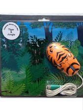 Il carattere 3 pulsante scorrimento a sfera Desktop PC Tappetino Mouse PS2 & (Tiger & Giungla) NUOVO