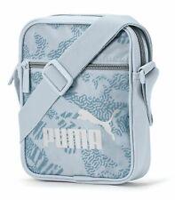 PUMA WMN Core Up Portable Umhängetasche Tasche Plein Air Blau