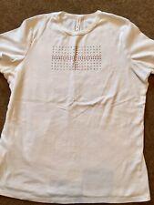 Women's MARKS & SPENCER Cotton T Shirt. Size 22.