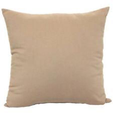 "Mainstays Microfiber Twill Accent Decorative Throw Pillow,17""x17"",Brownstone.2pk"