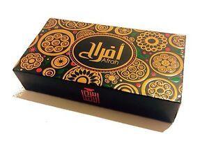 Al Asa'as Afrah Perfume 6ml Attar ittar Oil Oud Gift Set with Bakhoor Mabsoos