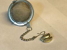 Tea Cup & Spoon TG148 Infuser Stainless Steel Sphere Strainer