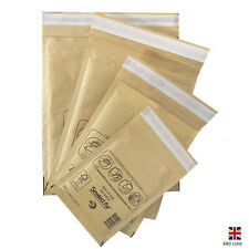 More details for jiffy bubble wrap postal bags padded mailing airkraft self seal envelopes uk