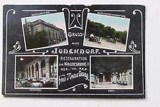26894 AK Gruß aus Jüdendorf Restaurant zur Waldesruhe 1909 Jugendstil