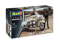 Revell 07937 US Touring Bike Motorbike 1:8 Scale Kit
