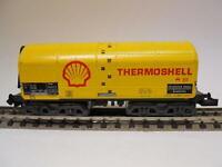 MINITRIX Heizöltransportwagen THERMOSHELL (33193)