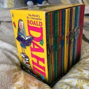 Roald Dahl Box Set X 15 Paperbacks Various Titles
