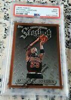MICHAEL JORDAN 1996 Topps Finest Sterling PSA 9 Chicago Bulls HOF 6x Champs RARE
