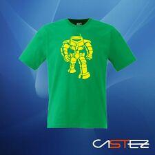 Camiseta robot vintage  basado manbot sheldon big bang  (ENVIO 24/48h)