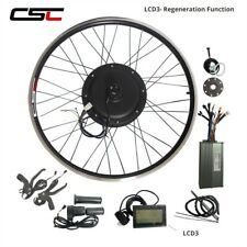 48V 1500W Electric Bike Conversion Kit  20 24 26 inch Cycling Motor Regeneration