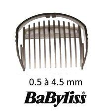 BaByliss pettine 0,5 - 4,5 mm rasoio tagliacapelli E709 E769 E779 WTech