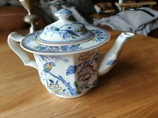 Booths China Teapot with Floral Pattern c1920s