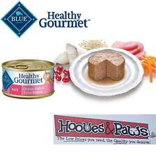 Blue Buffalo Healthy Gourmet Wet Canned Cat Food Ocean Fish Tuna Adult Pate 3oz