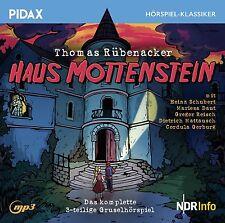 Haus Mottenstein * CD 3-teiliges Gruselhörspiel von Thomas Rübenacker Pidax Neu