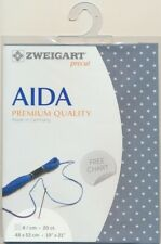 Zweigart Precut Aida Extra Fine 20ct 3326.5269 Petite Point 48 x 53 cm