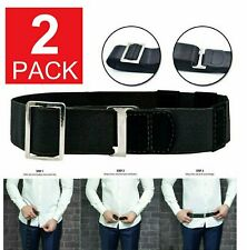 2x Adjustable Near Shirt Stay Best Tuck It Belt Shirt Holder Belt for Women Men