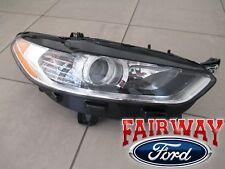 13 thru 16 Fusion OEM Genuine Ford Parts Halogen Head Lamp Light RH Passenger