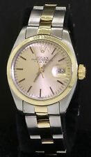 Rolex Datejust 6916 SS/14K gold elegant high fashion automatic ladies watch