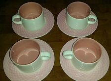 Pink Basket Pier 1 cups and saucers