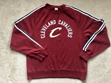 Adidas Cleveland Cavaliers Track Jacket Warm Up Cavs Throwback Mens L large