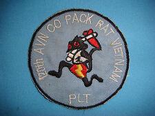 VIETNAM WAR PATCH, US 120th AVIATION PLATOON COMPANY PACK RAT