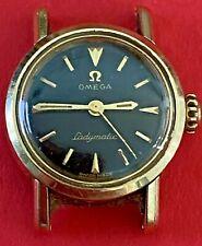 Vintage Omega Ladymatic 17 Jewel Watch - Nonworking - Parts/Repair