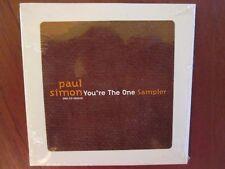 Paul Simon You're The One Promo CD 6 Song Sampler Sealed Simon and Garfunkel