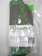 "FloraFlex Quick Disconnect Pipe System Multi Flow Bubbler Valve 1"" T fitting NEW"
