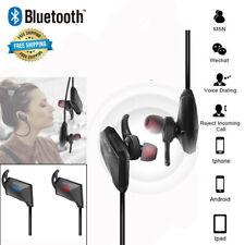 Sports Bluetooth Wireless Headphones Earphones Earbuds Stereo Headset w/Mic Us