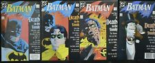 """DC BATMAN #426-429 (NM) - """"A Death in the Family"""" Complete Story First Prints"""