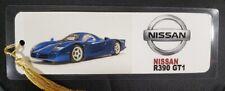 "Japanese Sports Car Bookmark - Hand Made - Choose Make/Model - 5 ml - 8"" x 3"""