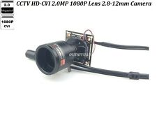 Cctv Hd-Cvi 2.0Mp 1080P Zoom Ir -Cut Lens 2.8-12mm Wide Angle Mini Cvi Camera
